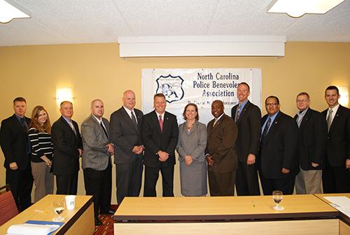 NCPBA Members with Lorrin Freeman